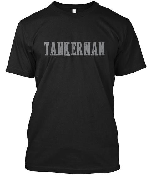 Tankerman Bamf Black T-Shirt Front