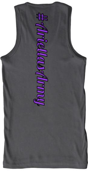 # Ariellas Army Charcoal T-Shirt Back