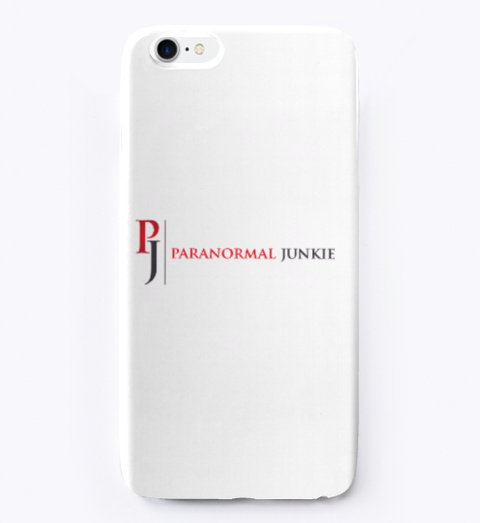 Paranormal Phone Case White Standard T-Shirt Front