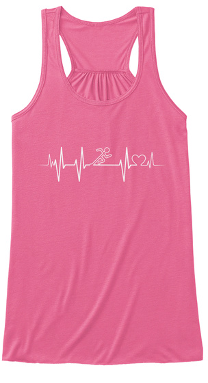 Definition Of Running (F) Neon Pink T-Shirt Front