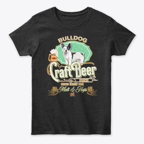 Black&White French Bulldog Copy Gifts Black T-Shirt Front
