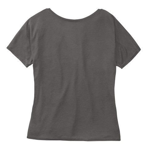 New Spirit Junkie Styles Dark Grey Heather Women's T-Shirt Back