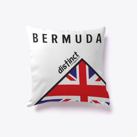 Dis Tinct Bermuda  White T-Shirt Back