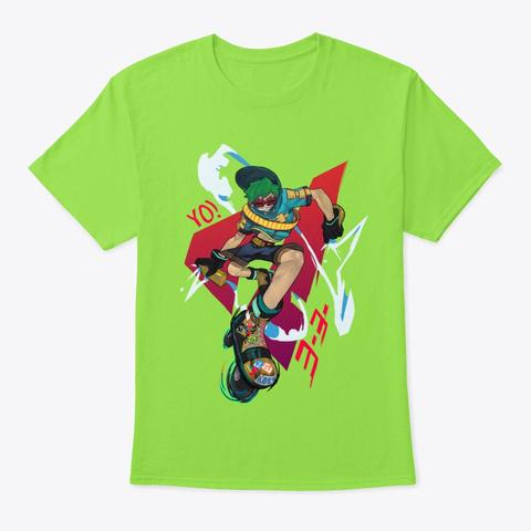 Jet Set Radio Future   Yo Yo Lime T-Shirt Front