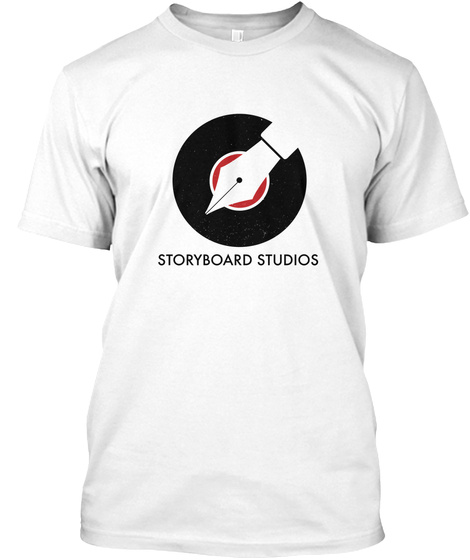 Storyboard Studios White T-Shirt Front