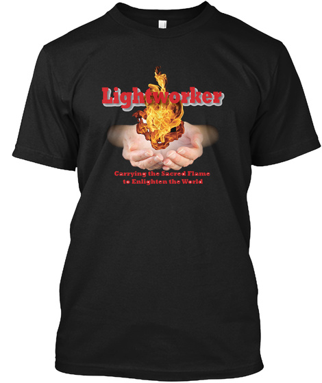 Lightworker Carrying Cv Black T-Shirt Front