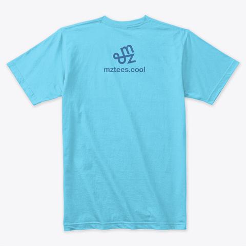 Python Tahiti Blue T-Shirt Back