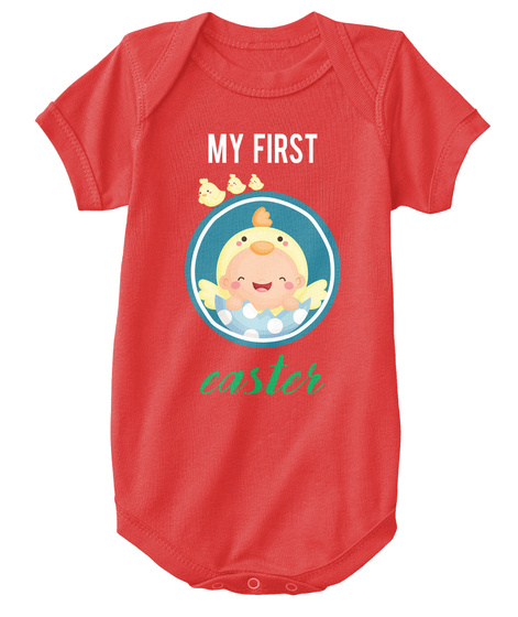 50dc2508c Funny Baby Onesie My First Easter Products from Baby Onesie | Teespring