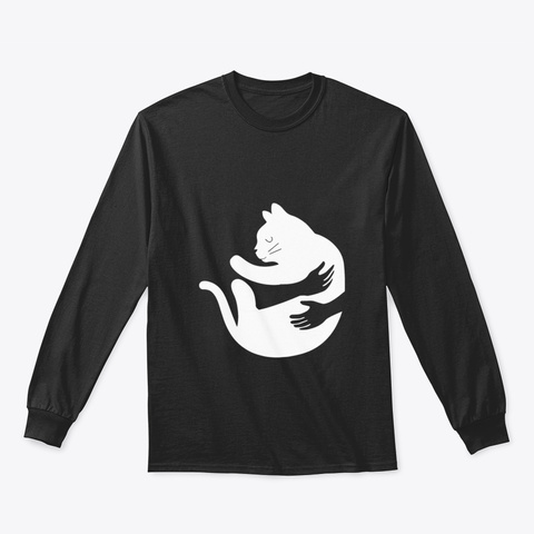 Cat Lqezr Black T-Shirt Front