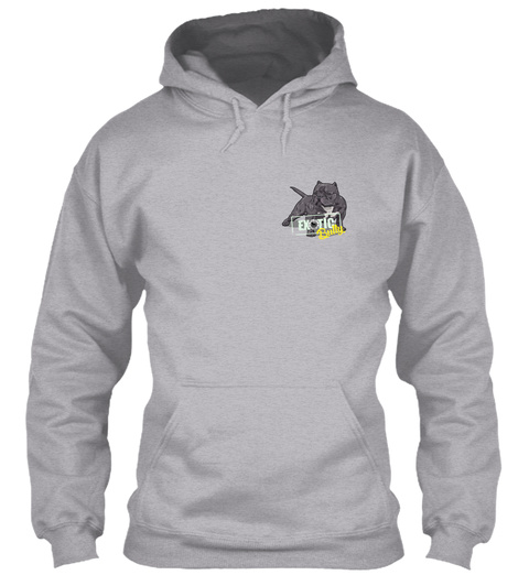 Exotic Bully Sport Grey T-Shirt Front