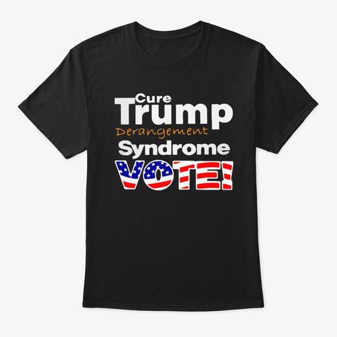 trump derangement syndrome shirt black