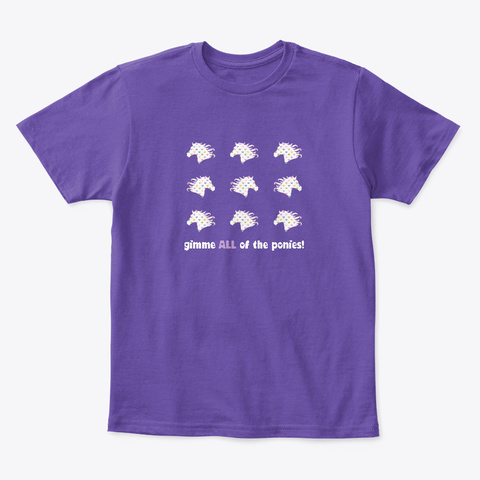 Gimme Purple  T-Shirt Front
