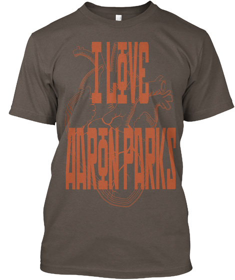 I Love Aarin Parks Coffee T-Shirt Front