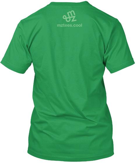 Yo Resolution Mint Green Kelly Green T-Shirt Back