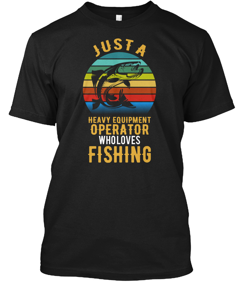 Operator Who Loves Fishing - Cheap Price Cheap Fishing V-neck T Shirt Design