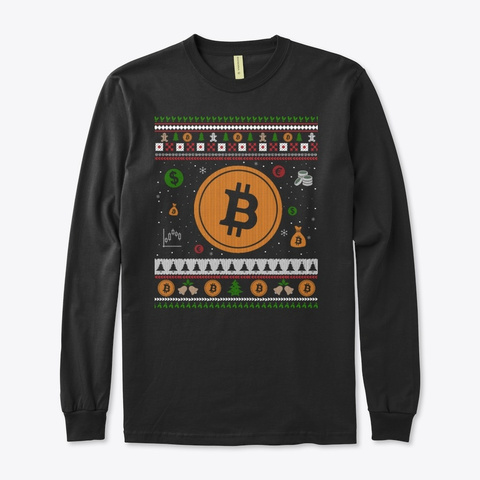 Millionaires People's Christmas Shirt Black T-Shirt Front
