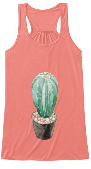 Big Cactus Coral Women's Tank Top Front