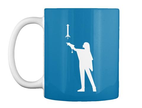 Falconer 2 Woman Mug [Int] #Sfsf Royal Blue Mug Front