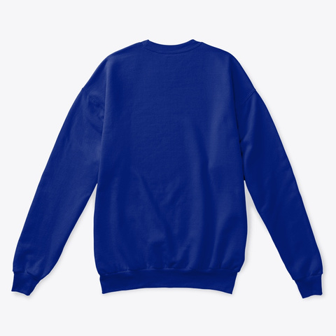 Bombie! Deep Royal  Sweatshirt Back