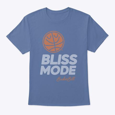 Basket Bill™ Bliss Mode (Mp) Denim Blue T-Shirt Front