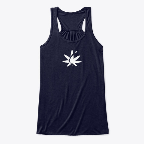 Cannabis Space Coast Midnight T-Shirt Front
