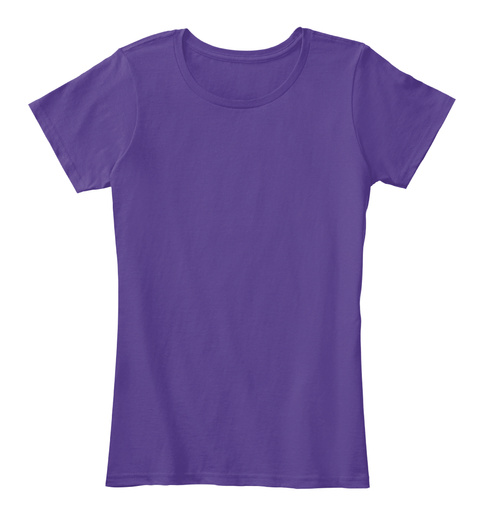 Happy Mother's Day, Text It! Purple T-Shirt Front