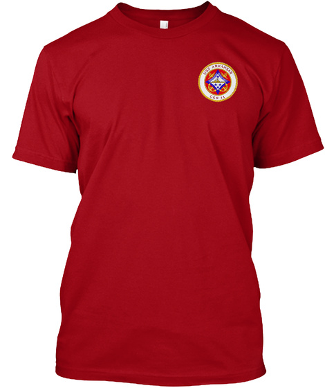 Relaunch  Cgn41  Ltd.Edition Ending Soon Deep Red T-Shirt Front