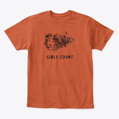 Kids Classic Tee Deep Orange  T-Shirt Front
