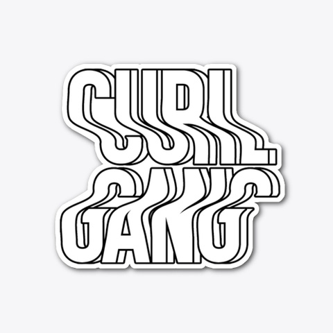 Curl Gang Collection Standard T-Shirt Front