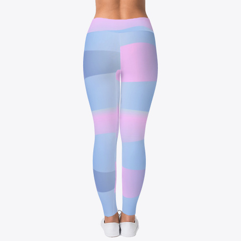 Shades Of Blue And Pink Leggings Products From Leggings Only Teespring