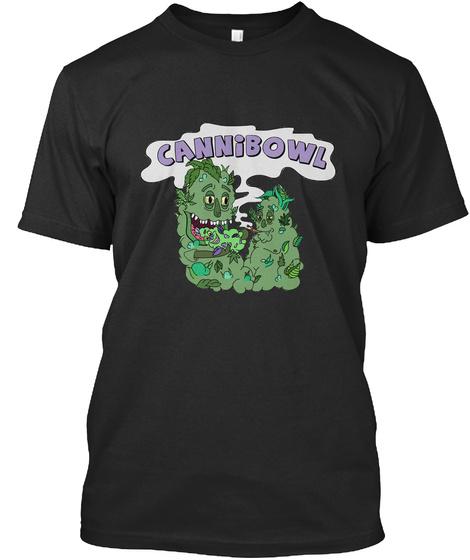 Cannibowl Black T-Shirt Front