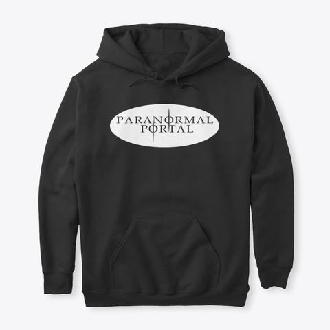 Portal Hoodies Black Black áo T-Shirt Front