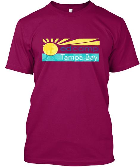 Edcamp Tampa Bay Cardinal T-Shirt Front