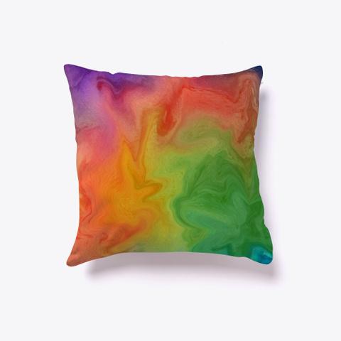 Rainbow Marble Standard T-Shirt Back