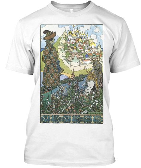 Buyan White T-Shirt Front