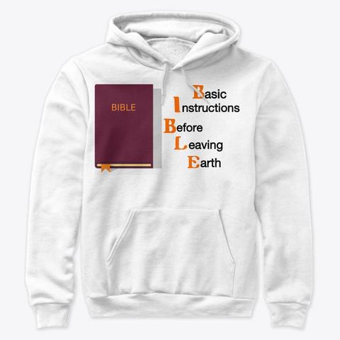 Bible White T-Shirt Front