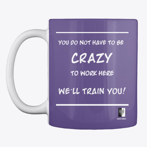 Office Funny Quotes Purple Camiseta Front