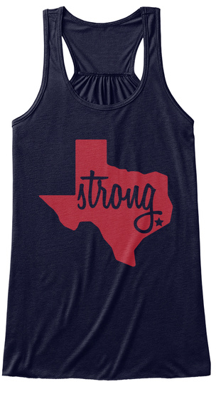 Strong Midnight Women's Tank Top Front