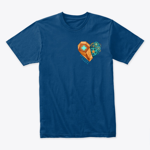 Dechart Games Cool Blue T-Shirt Front