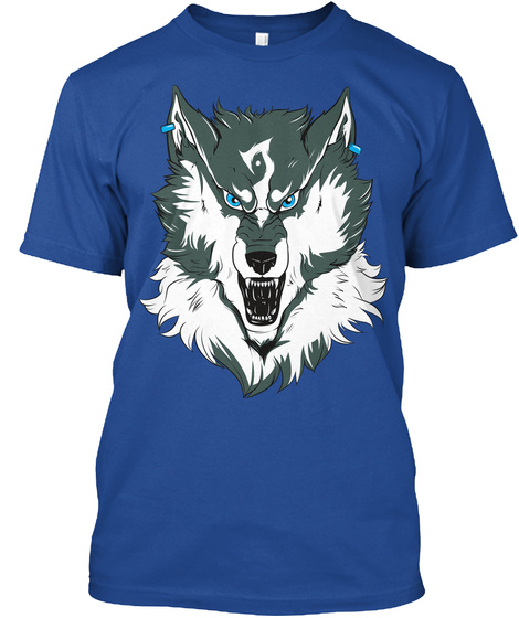 Twilight Beast  Deep Royal T-Shirt Front