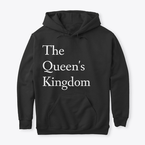 The Queen's Kingdom  Black T-Shirt Front
