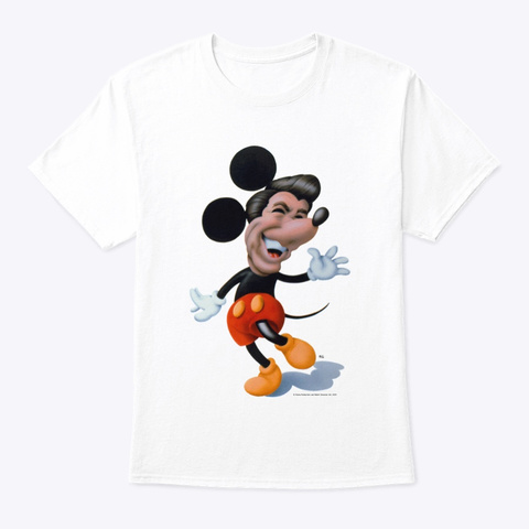 Ronnie Rodent White T-Shirt Front