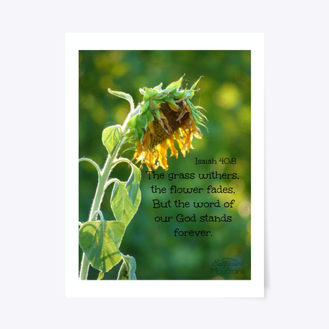 Sunflower Withers Standard T-Shirt Front