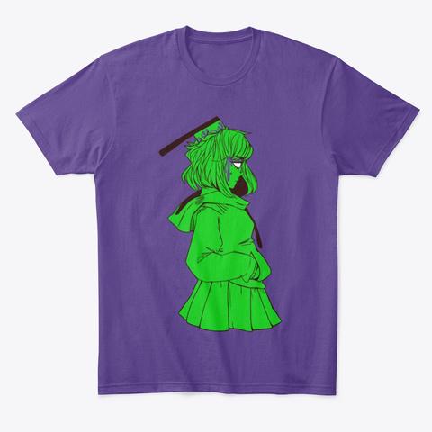 Cleaver Head Purple T-Shirt Front
