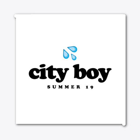 City Boy | The 1&Amp;9 Podcast Standard T-Shirt Front