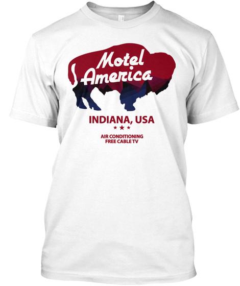 Motel america indiana usa t-shirt Unisex Tshirt