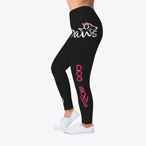 Animal Legging Black T-Shirt Left