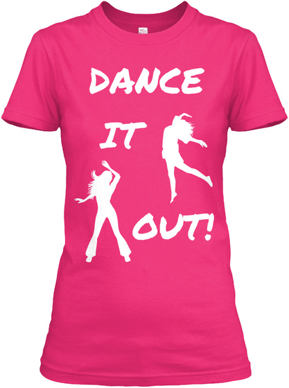 Dance It Out Heliconia T-Shirt Front