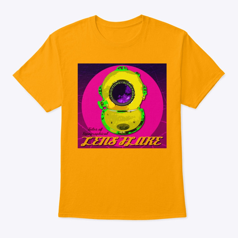 Blank Frank Gold T-Shirt Front