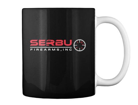 Serbu Firearms Inc Black Mug Back